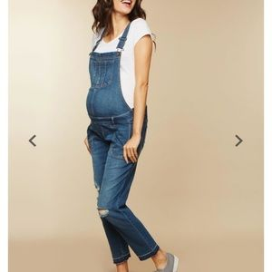 Mother maternity overalls